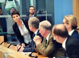 Eklat bei erster AfD-Pressekonferenz - Petry verlässt vorzeitig den Raum
