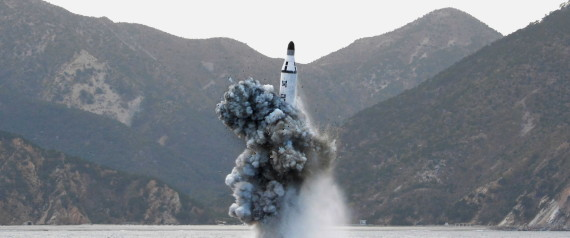 SUBMARINE MISSILE NORTH KOREA