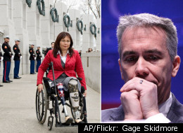 Joe Walsh Tammy Duckworth Veterans