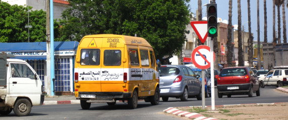 BUS SCHOOL MOROCCO