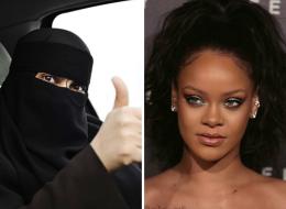 بماذا علقت ريهانا على السماح للمرأة السعودية بقيادة السيارة.. إليك ما قاله المشاهير حول العالم