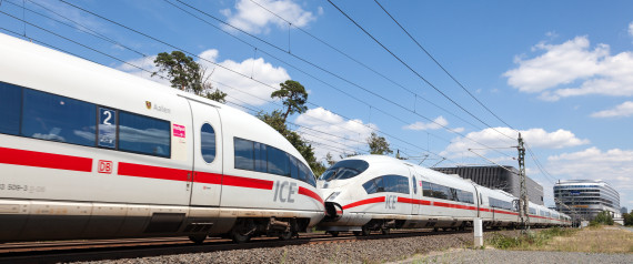 ICE TRAIN GERMANY