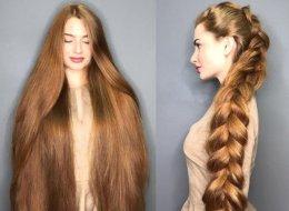 أُصيبت بالثعلبة وكادت تصلع.. العارضة الروسية صاحبة الشعر الأطول تعطي نصائح للعناية بالشعر