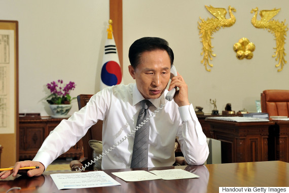 lee myung bak phone