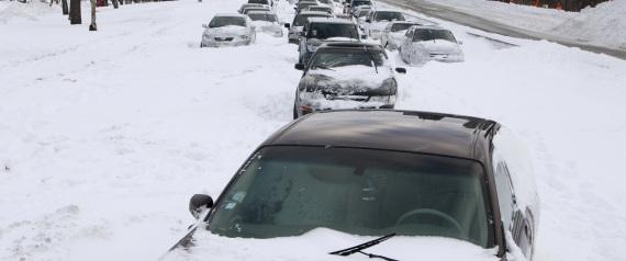 CARS MORNING WINTER