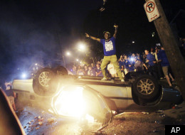 Kentucky Fan Riot Police Ncaa