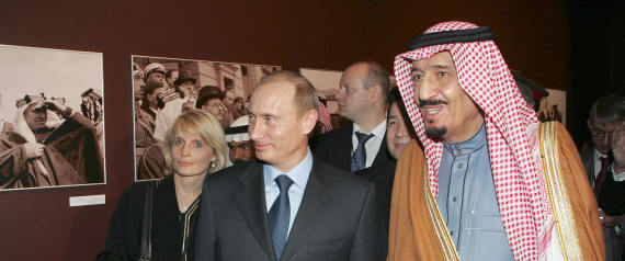 KING OF SAUDI ARABIA AND PUTIN