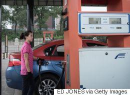 지금 북한에서 급유가 허용된 자동차의 차량번호