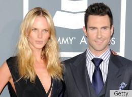 how long have adam levine and anne been dating