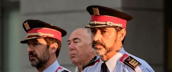 CHEF DE LA POLICE CATALANE
