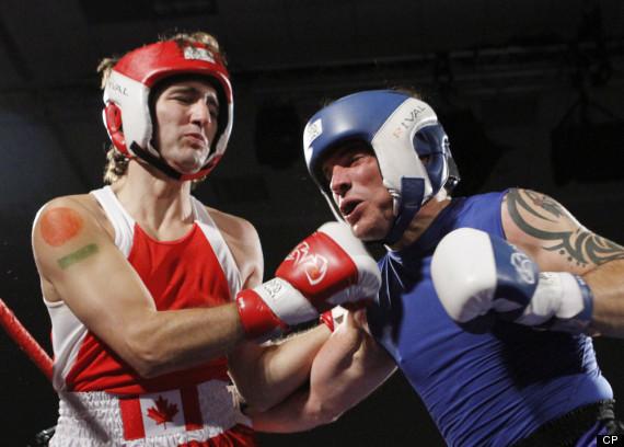 trudeau brazeau boxing justin patrick