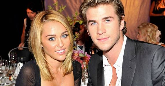 miley syrus and liam hemsworth