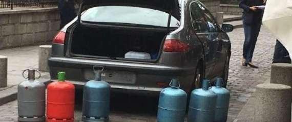 BONBONNES GAZ