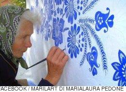 이 90세 할머니가 벽화를 그리는 이유(사진)
