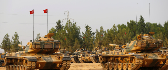 SYRIAN TURKISH BORDER