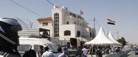 SYRIAN EMBASSY IN JORDAN
