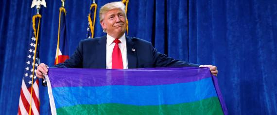 DONALD TRUMP LGBT