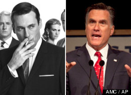 WATCH: 'Mad Men' Takes A Jab At Romney