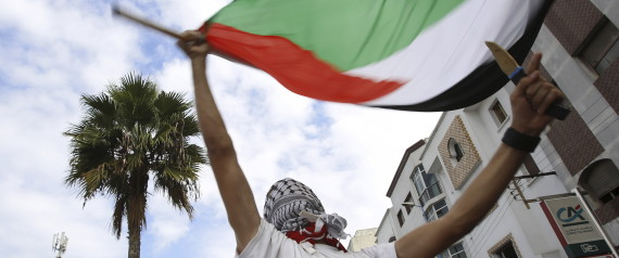 PROTEST MOROCCO PALESTIN