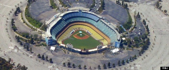 Dodgers Parking Lots