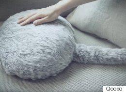 꼬리가 달린 고양이 엉덩이 로봇이 개발됐다