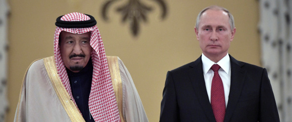 PUTIN AND KING SALMAN