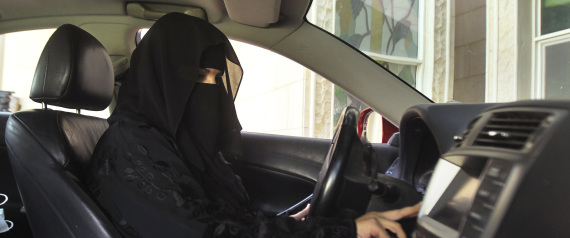 SAUDI ARABIA DRIVING A CAR