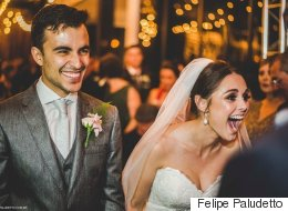 이 부부는 결혼식에 온 불청객과 가족이 되었다