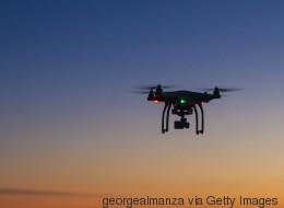 Drohne kracht in ein Flugzeug - nur knapp entgehen die Passagiere
