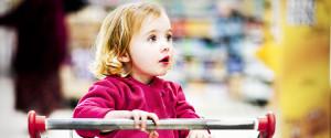 Kind Einkaufen