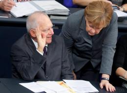 Medienbericht: Schäuble kritisiert profillosen Wahlkampf der Kanzlerin