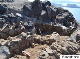 Στο φως προϊστορικός οικισμός της Εποχής του Χαλκού στη Σαντορίνη