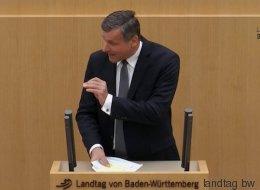 FDP-Politiker Rülke rechnet in einer Brandrede mit der AfD ab - und wird dafür gefeiert
