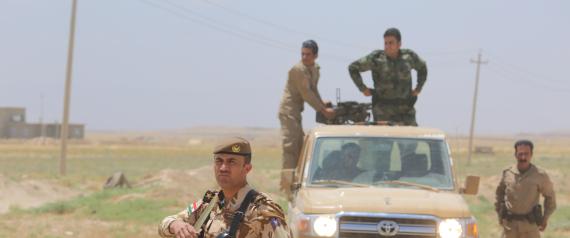 IRAQI FORCES CONTROL SINJAR DISTRICT