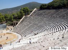Ολλανδοί επιστήμονες ερευνούν την ακουστική στο αρχαίο θέατρο της Επιδαύρου
