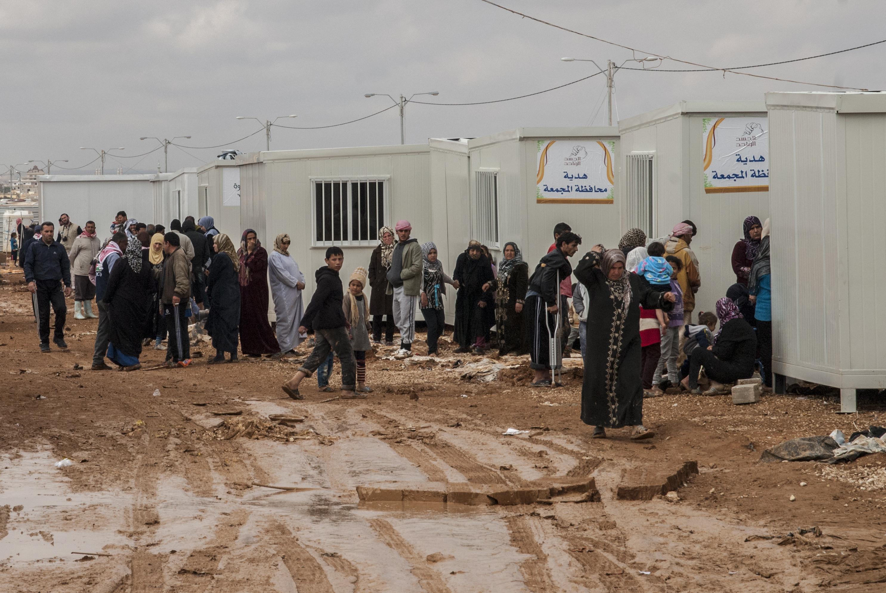 camp zaatari refugees