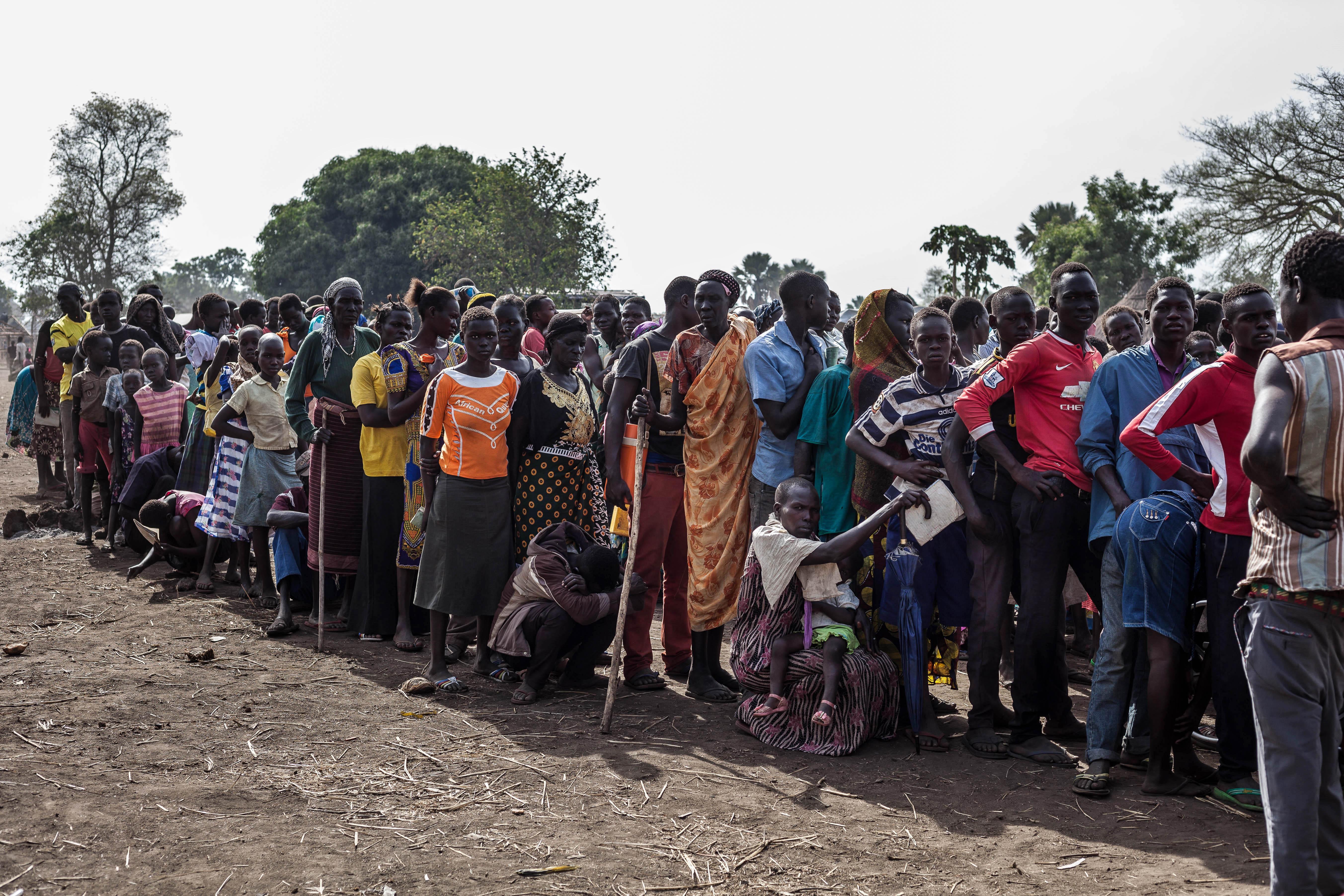 bidibidi refugees camp