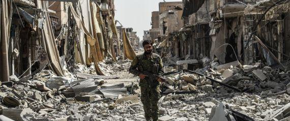 CITY OF RAQQA SYRIA