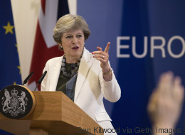 Die britische Premierministerin hofft beim EU-Gipfel auf ein Einlenken Brüssels - beißt aber auf Granit