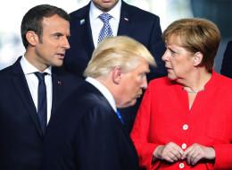 خطوة نحو حروب المستقبل.. فرنسا تحذر من انسحاب أميركا من الاتفاق النووي مع إيران