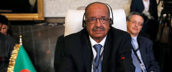 ALGERIAN FOREIGN MINISTER