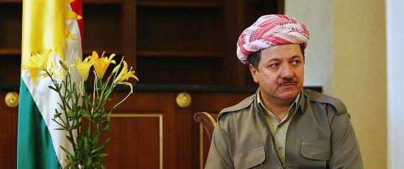 KURDISH LEADER MASSOUD BARZANI