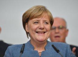 Grünen-Politiker Habeck nennt Merkel auf Sondierungstreffen