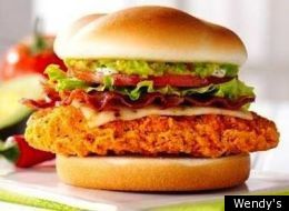 Fast Food Review: Wendy's Spicy Guacamole Chicken Club