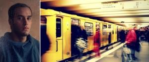 Frau In Der U Bahn
