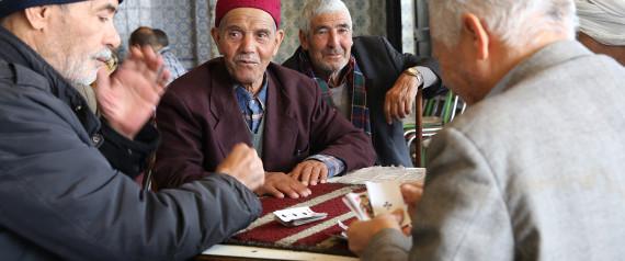 OLD PERSON TUNISIA