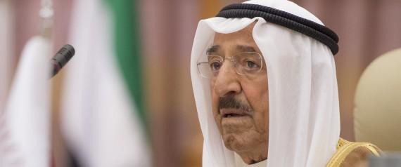 EMIR OF KUWAIT SHEIKH SABAH AL AHMAD AL JABER AL S