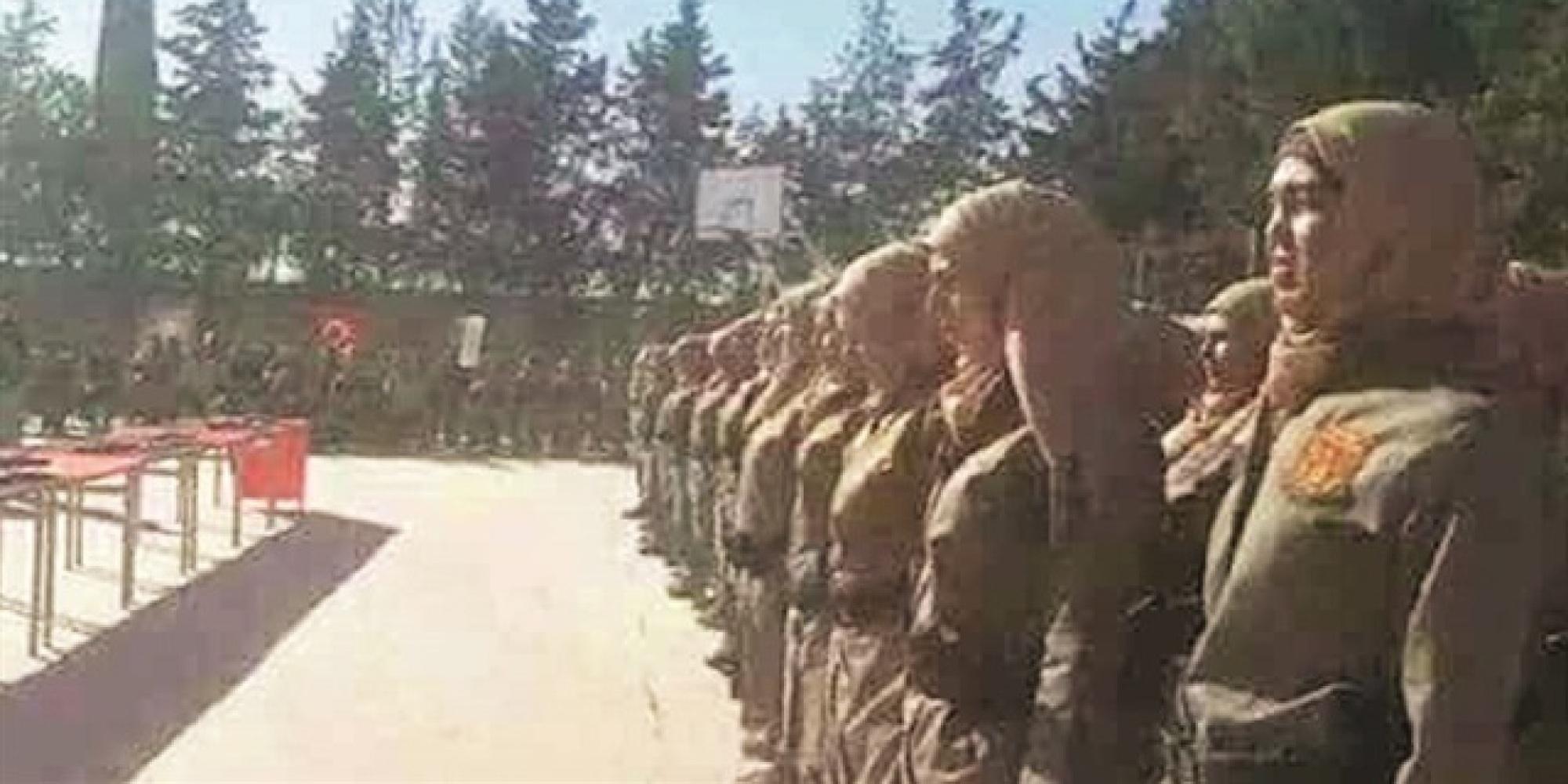 تلقَّين التدريبات على يد وزارة الداخلية التركية.. شرطة نسائية سورية لحفظ الأمن داخل المدن المحرَّرة من قبضة  داعش 