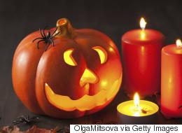 이 할로윈 호박 램프는 세상에서 가장 무섭다