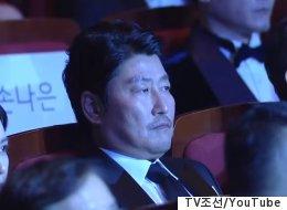 대종상 축하무대를 본 배우들의 반응(사진, 영상)